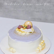 Taro Crepe Cake
