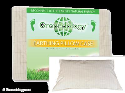 כיסוי הארקה לכרית - Earthing Pillow Case