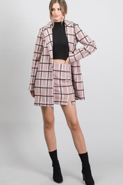 Tartan Oversize Coat