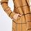 Thumbnail: Corduroy Grid Pattern Coat