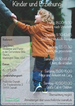Flyer Freikirche Overath Seminar