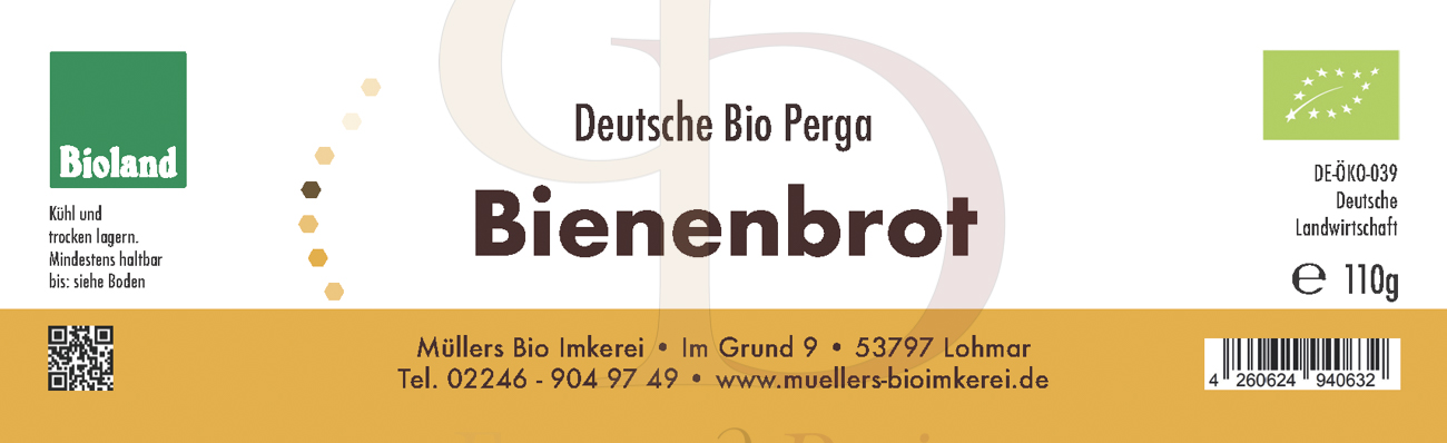 Etiketten Müllers Bioimkerei