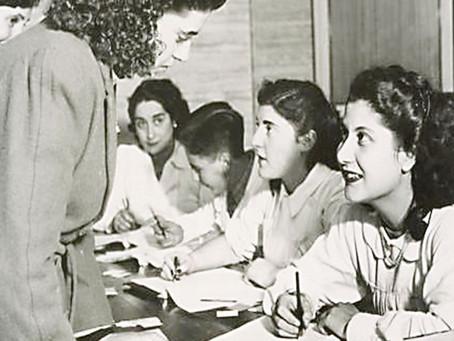 Aniversario del primer voto femenino