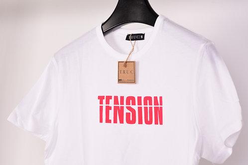TENSION White Unisex Tee