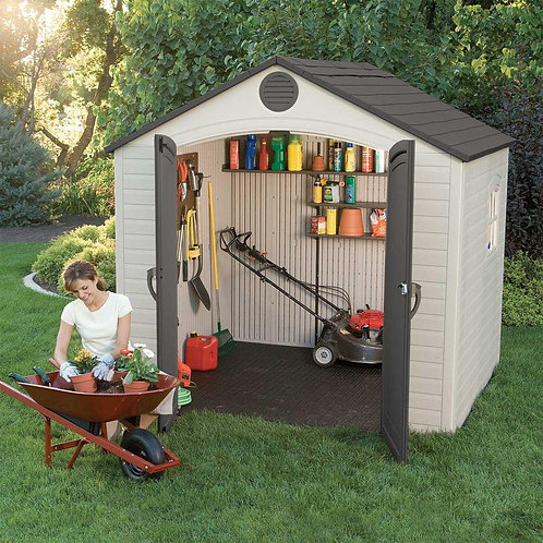 Lifetime 8 x 5 shed