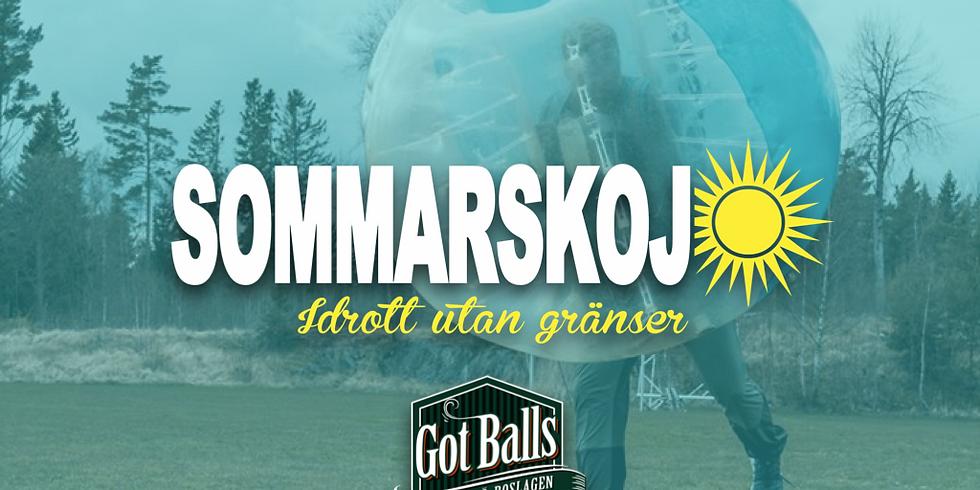 Bumperballs med Got balls Roslagen