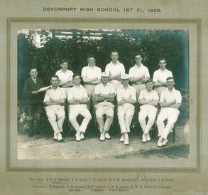 1st XI Cricket 1928