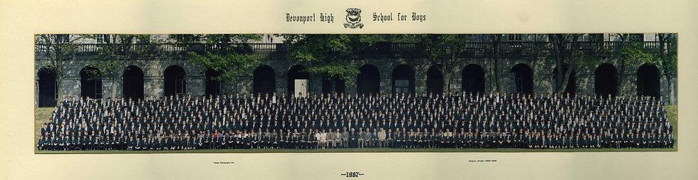 Whole School Photograph 1987