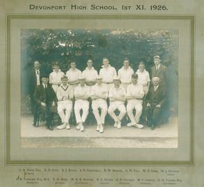 1st XI Cricket 1926