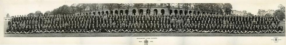 Whole School Photograph 1952