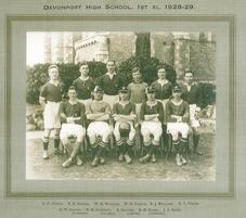 1st XI Football 1928-29