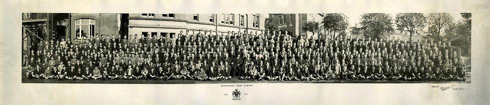 Whole School Photograph 1933