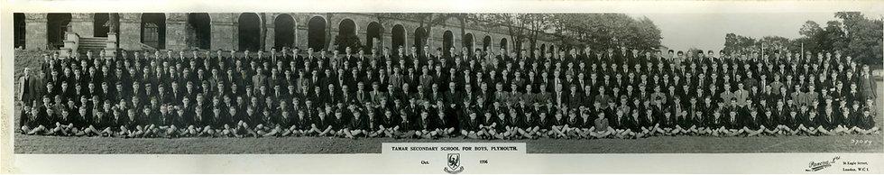 Whole School Photograph 1956