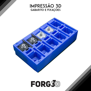 Impressão 3D de Gabaritos e acessórios
