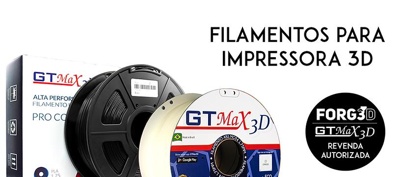 filamento impressão 3D