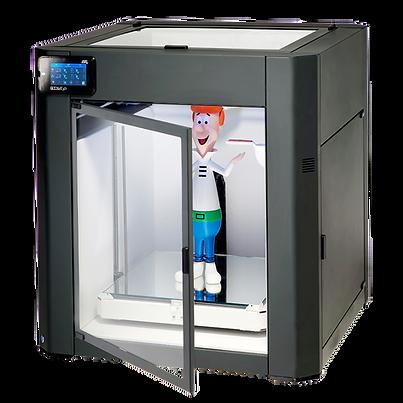 impressora 3D nacional com quatro extrusoras, com ótima qualidade e tecnologias, ganhe um kg de ABS na compra.