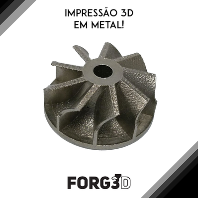 Impressão 3D metal