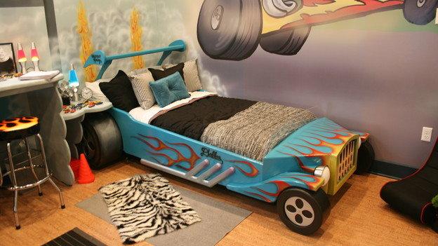 Hotrod Car Bedroom