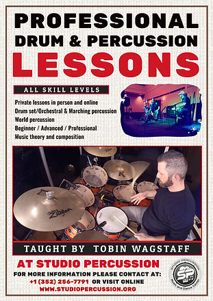 Drums & Percussion lessons