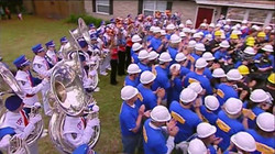 Gator Band and Extreme Makeover Home