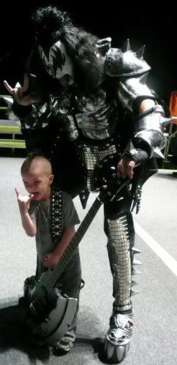 Dallas and Gene Simmons