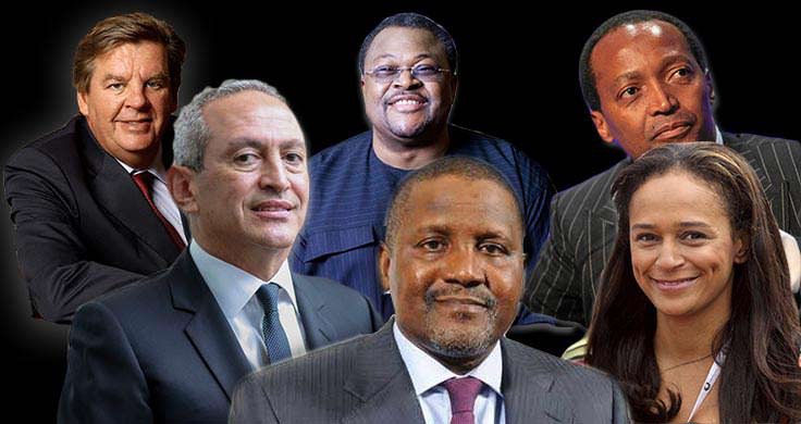 Image result for Nigeria's billionaire Dangote remains Africa's richest man for 9th time - See Full List