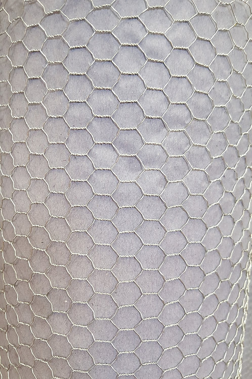 hexagonal galvanized mesh in rolls
