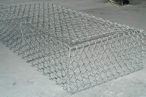 high carbon galvanized wire mesh box (gabions)