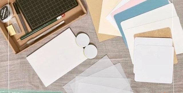 Rubber stamp DIY kit (beginner's)