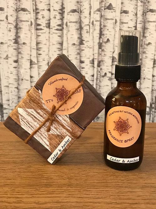 Cedar & Amber Gift Set