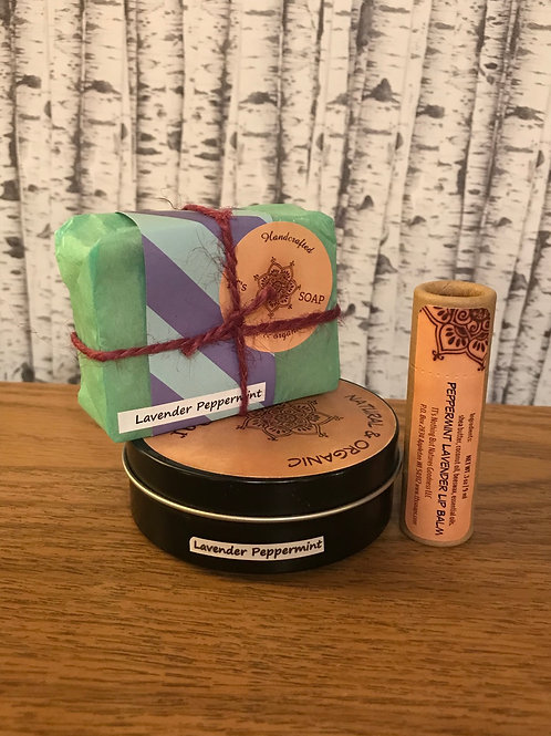 Lavender Peppermint Gift Set