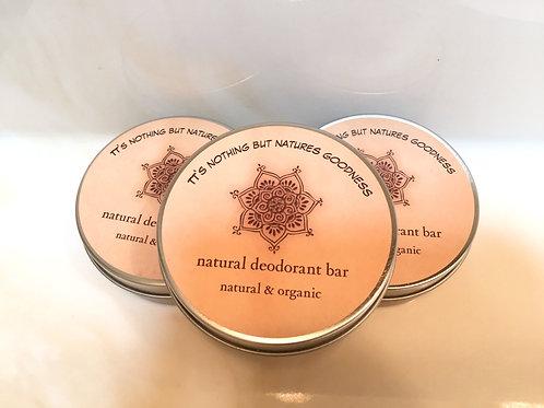 Natural Deodorant Bar
