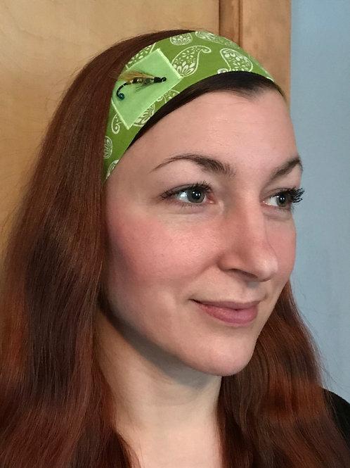 Streamer Fly Headband green