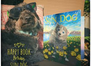 Happy Book Birthday, SUN DOG!