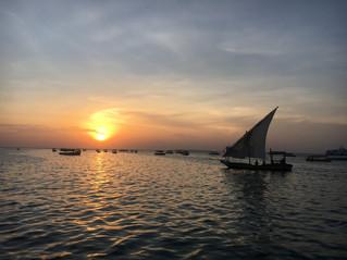 Sunset in Kendwa Zanzibar