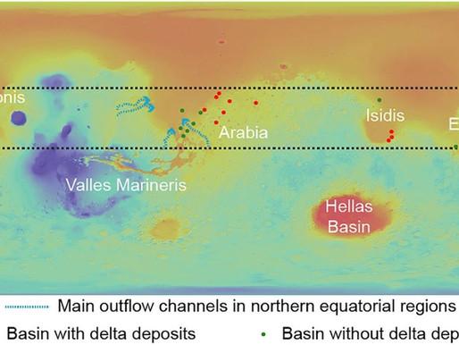 Su Marte c'è un intero sistema interconnesso di laghi sotterranei