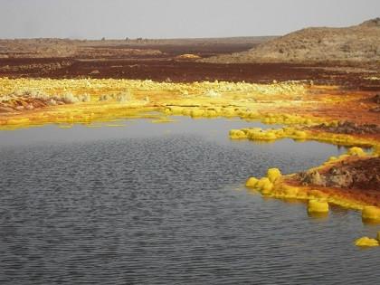 """Sulla Terra batteri """"alieni"""", in un ambiente sosia di Marte."""