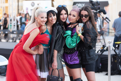 Sarah Zerafa, Caroline Paris , Stella CIni , Taryn Mamo Cefai , Victoria Rotchenkova