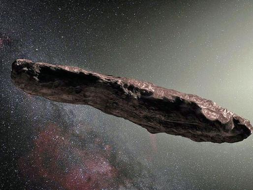 Oumuamua è un veicolo alieno?