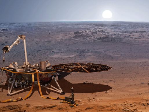 """InSight è giunta su Marte con un """"equipaggio speciale"""""""