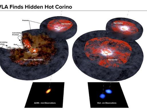 Hot Corinos: scoperte le fabbriche dei mattoni della vita nell'universo.