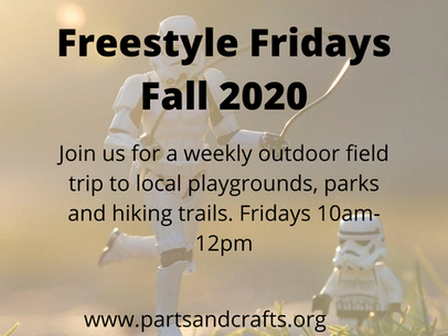 Freestyle Friday - weekly outdoor field trips!