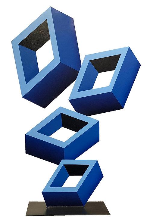 Four Blue Boxes by Daniel Sanseviero