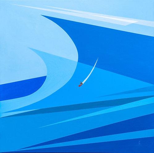 Big Blue by Felix Burgos