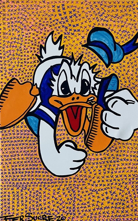 Donald Duck  by Fer Sucre