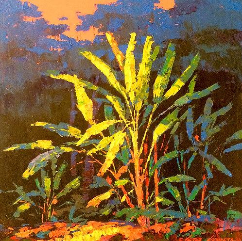 Landscape Painting -Victor Urdaneta - Arboles Centenarios