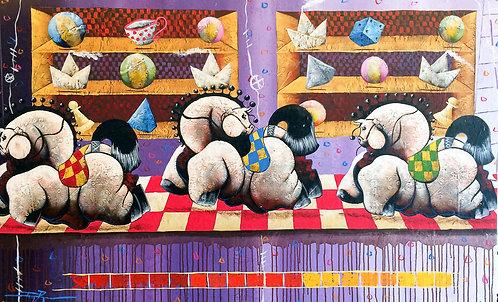 Pop Art Painting - Danny Rivero - Lucido Serie I