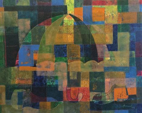 Surrealism Painting - Yovanny Saracual - Untiled