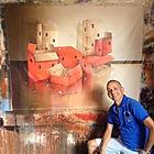 urban expressionist artist jose cordova dgallerie art gallery st petersburg