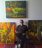 Contemporary Landscape Artist Victor Urdaneta